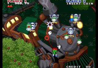 Captain Tomaday - Play Retro SNK Neo Geo games online | Play Retro