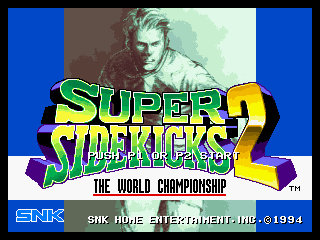 Super Sidekicks 2 : The World Championship